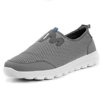 Fashion Men Mesh Breathable Light Weight Soft Slip On Walking Sneakers - NewChic MEVUYUW