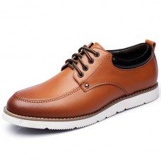 Men British Style Comfortable Lace Up Casual Oxfords - NewChic SNGKCVB